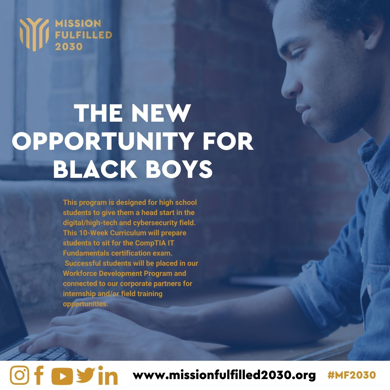 Mission Fulfilled 2030 New Opportunity for Black Boys Program
