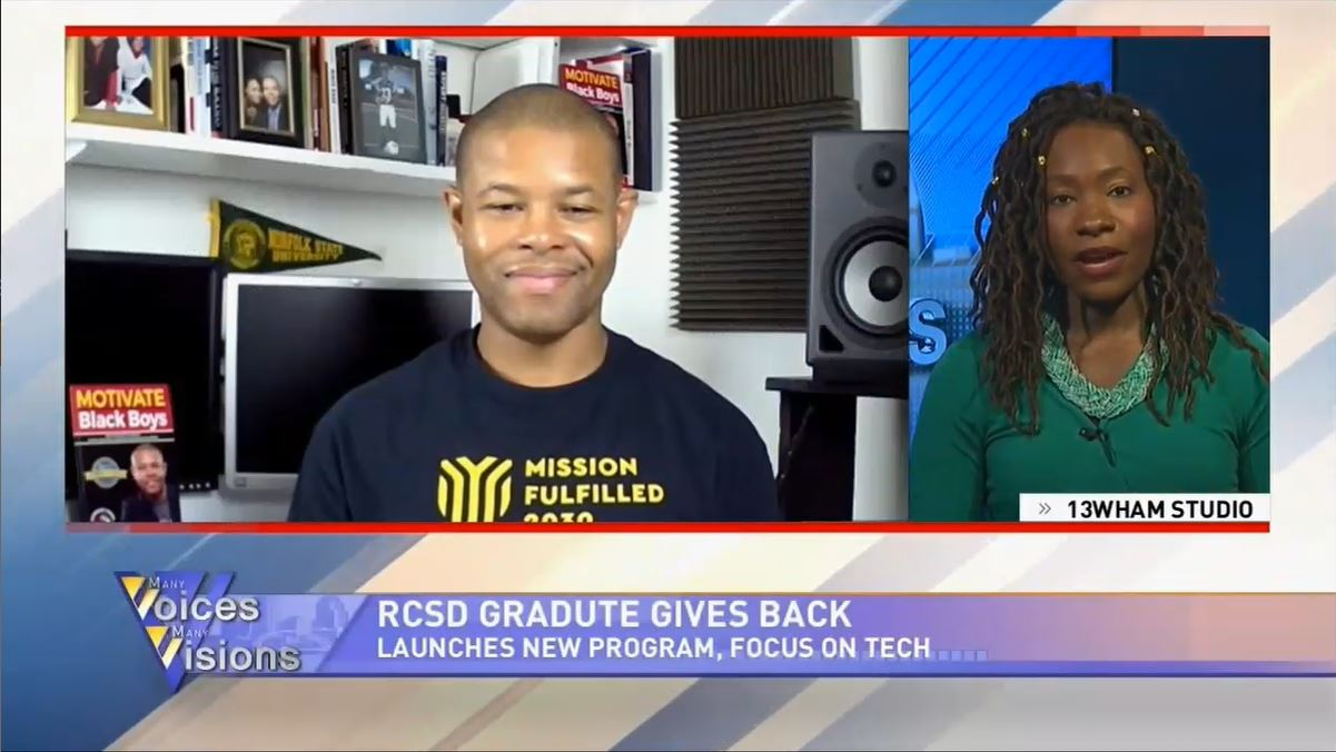 Gerald A. Moore Sr. Featured on NBC5 Chicago with Michelle Releford